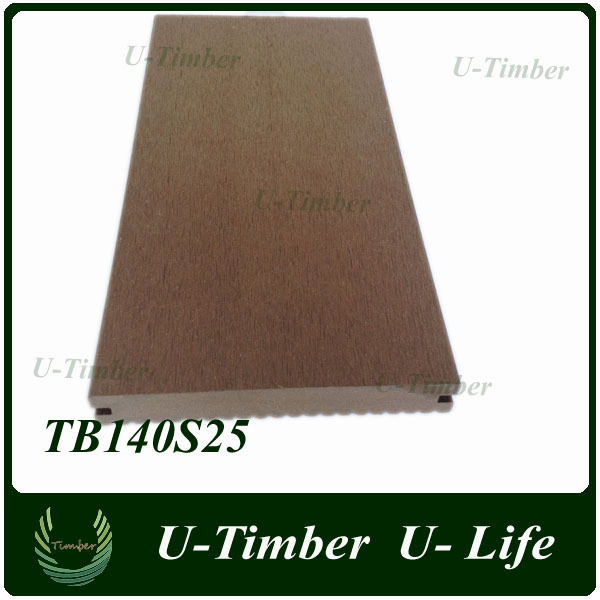 Hot sale anti-rot, waterproof and non-cracking WPC decking flooring