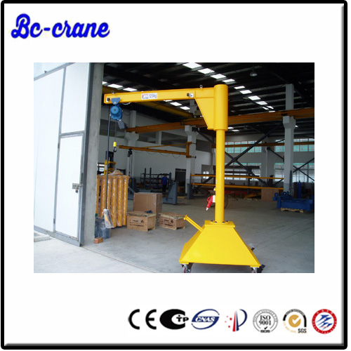 2015 hot selling swing arm lift jib crane