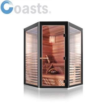 New design 2 person traditional stone steam sauna room