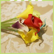 Affordable fair custom flexible baby breath silk flowers calla lilies