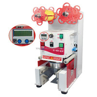 Commercial Mechanical Bubble Milk Tea Cup Sealing Machine