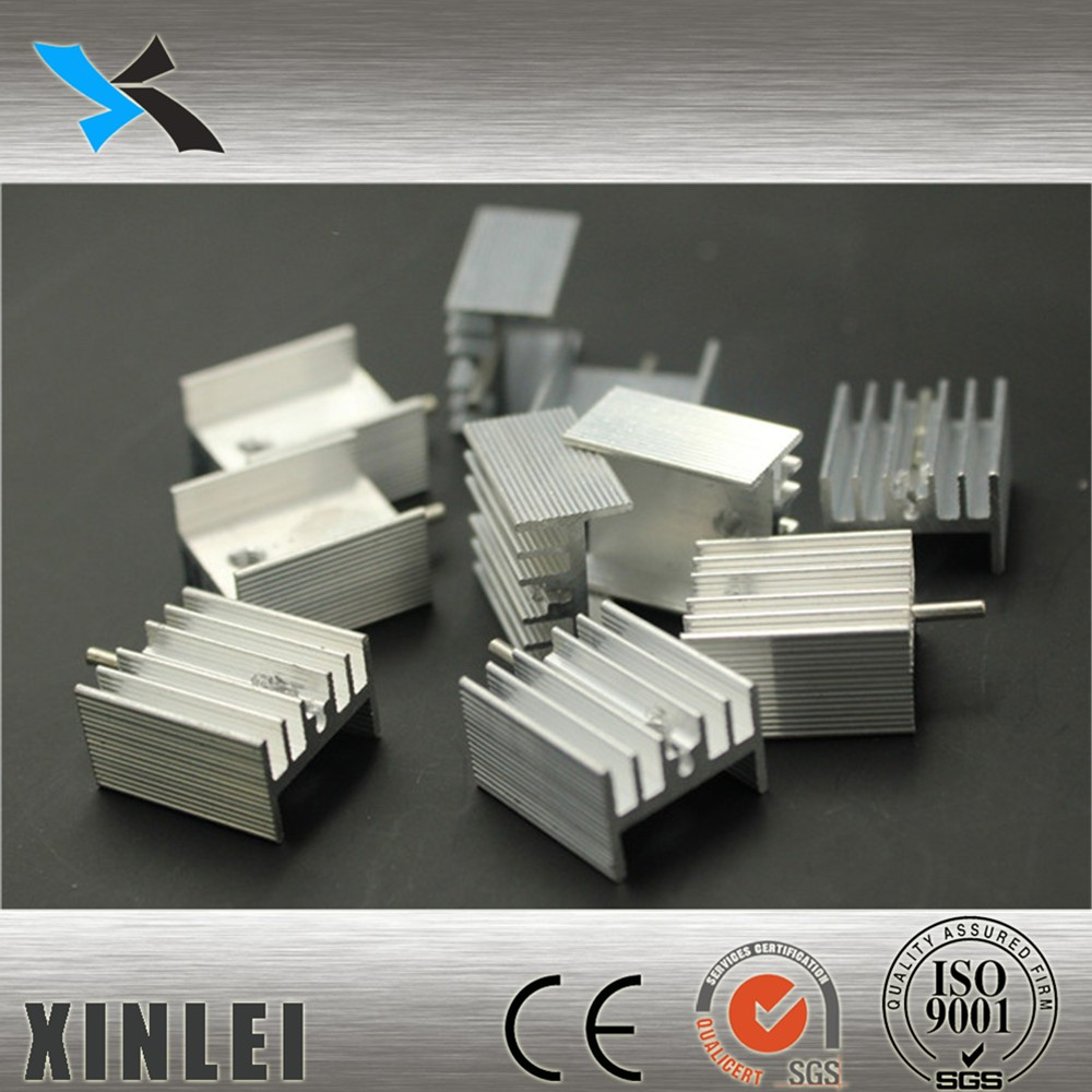 New products electronic aluminum extrusion heatsink for transistor
