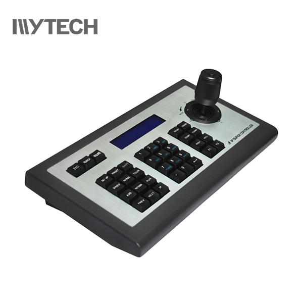 4D IP joystick Keyboard Controller ONVIF supporting Hikvision IP PTZ <strong>cameras</strong>