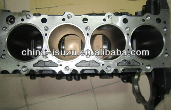 auto spare parts NQR 4HK1 Cylinder Block 8-98005443-1 for isuzu