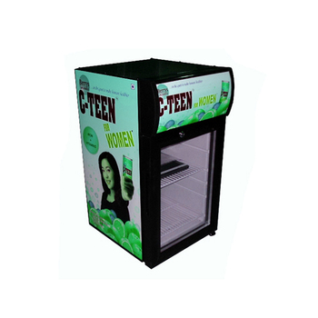 Most popular store use 21L wholesale small beverage cooler display