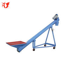 EXW price stainless steel mobile screw auger conveyor for flour/grain/corn