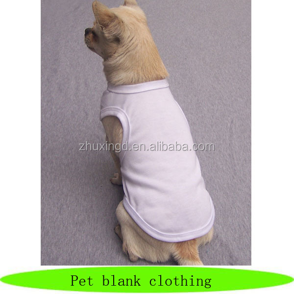 Hot sale dog show, pet blank wholesale clothing, wholesale dog t-shirt