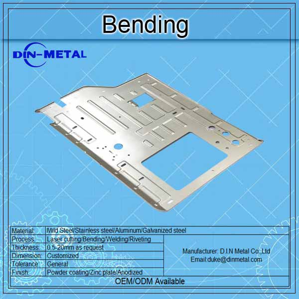 steel fabrication company / laser metal cutting / cnc bending thin sheet metal