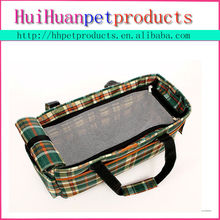 Air circulating mess covered outdoor dog bag