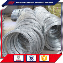 Manufacturing 18gauge soft galvanized iron wire/loop tie wire