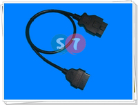 16Pin Male to Female J1962 OBDII Diagnostic Extension Cable,1M OBD Cable