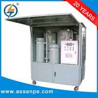 Double-Stage high vacuum insulating oil purifier system machine series ZYD