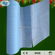 Good Water Penentration and Great Absorbency Non-woven Fabric material for wet wipes, wiping cloth