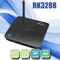 Clounetgo RK 3288 tv box 4k intel system tv box with android quad core 4k set top box with Kodi Blu ray android mini pc