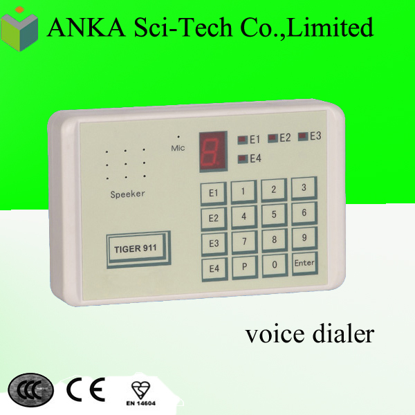 Automatic cell phone auto pstn emergency dialer AJ-TG911