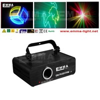 Custom Animations Programmable Laser Light Show System-Red Green and Purple Laser