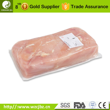food packaging flexible plastic vacuum forming bottom film for fresh meat sausage