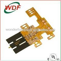 Flex PCB flexible Print circuit Board with FR4 Stiffener