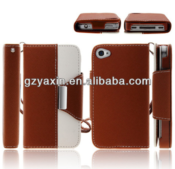 Best-selling Phone Case For Iphone4,Style PU Leather Case For Iphone4,Phone Case Covers Factory