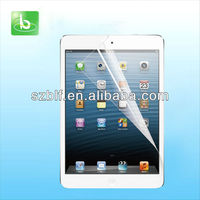 99% transparency ultra clear screen protector for ipad mini