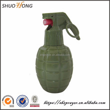 45ml wholesale grenade-shaped bottle free sample with mist sprayer for perfume