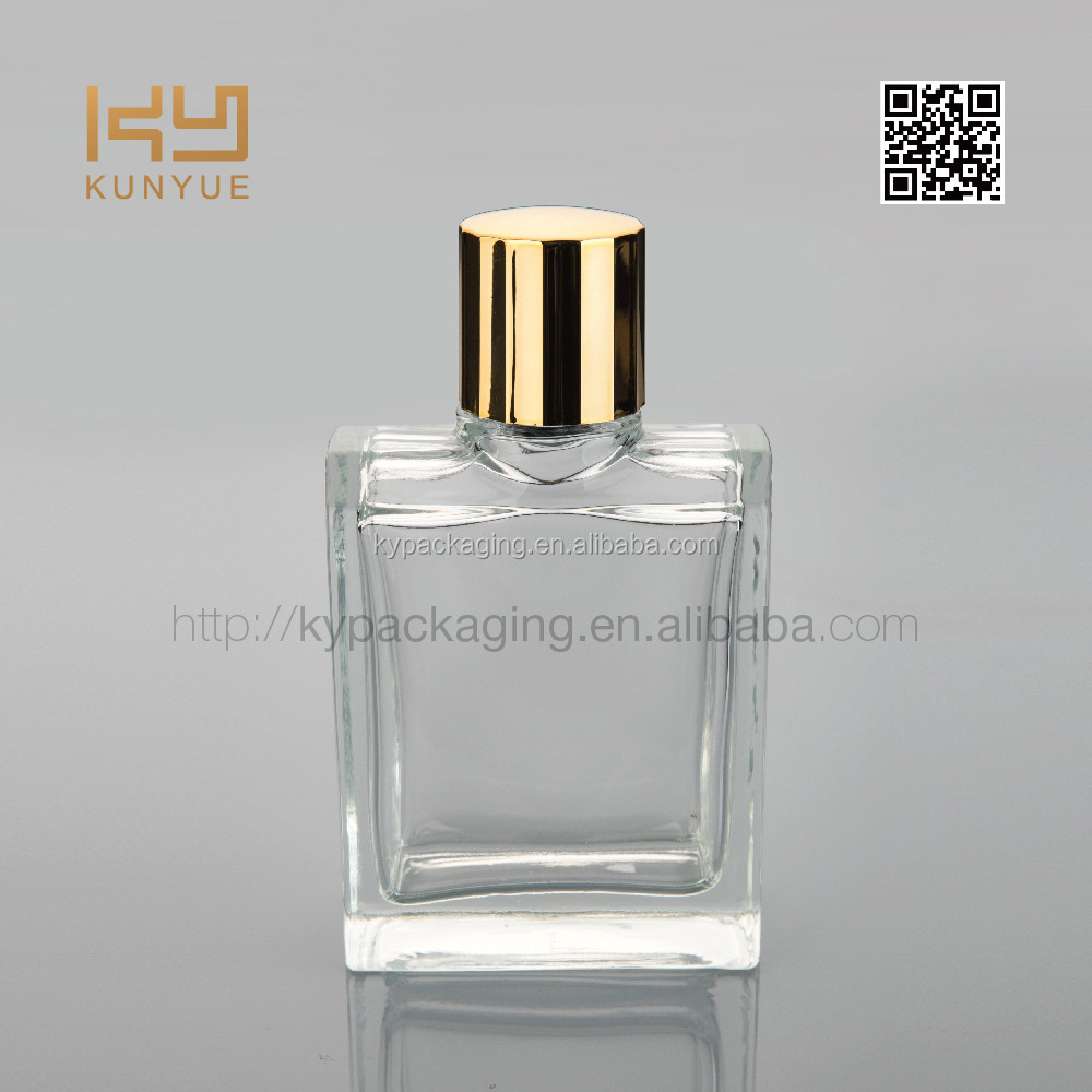 100ml new high quality men square perfume bottle