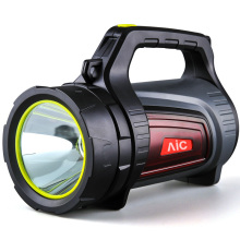 AIC High power marine LED search light high bright portable spotlight rechargeable 10w led searchlight