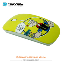 Hot Selling 3d sublimation printer Wireless Optical Mouse