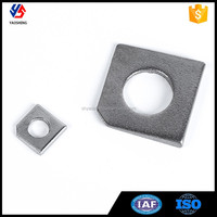 Factory Custom Stainless Steel Square Taper Washer