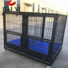New Design Stackable Dog Kennel Cage With Plastic Drain Floor Popular In USA(one tier, two tiers, three tiers)