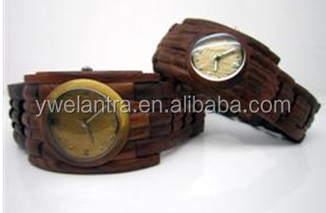 Fashion Square Case Bamboo Wooden Watch