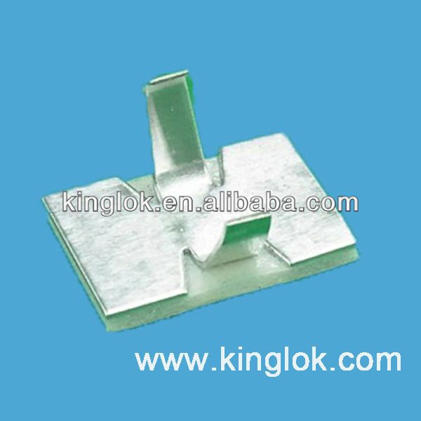 Self-adhesive Wire Clip Adhesive Cable Tie Mount Electrical Wire Clips