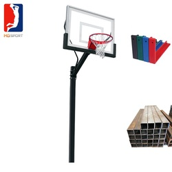basketball system with basketball backboard and basketball ring hot sale