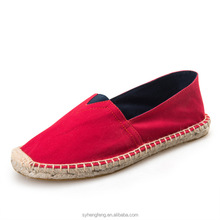 Comfortable alpargatas casual cheap espadrille shoes