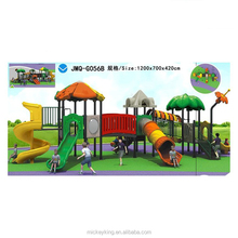 Jinmiqi LLDPE plastic outdoor playground children slide for sale