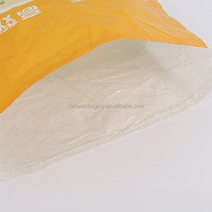 yellow pp poly woven new pig livestock animal feed feedstuff bags 50kg 25kg