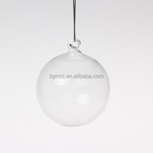 Hand Blown Clear Glass Ball Decorative Glass Ball