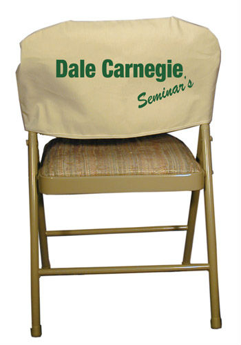 Promotional Chair Cover in Canvas Fabric