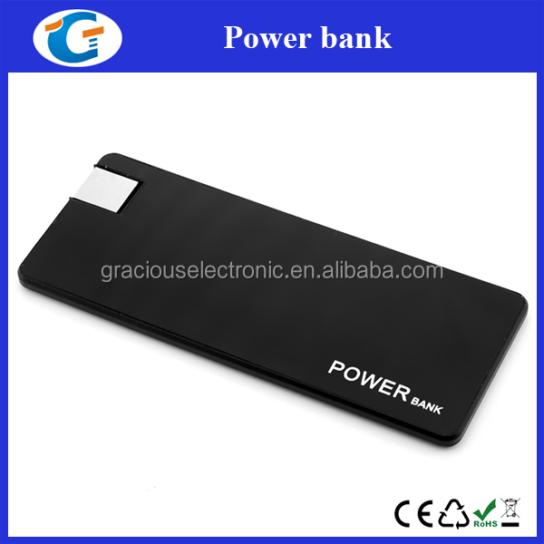 Card Shaped Li-polymer Battery Phone Charger Powerbank