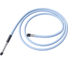 endoscopy cold light source fiber optic light cable with different adaptor