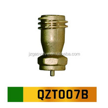 North american brass gas fitting assembly lpg gas cylinder filling valve lpg conversion kit fill valve