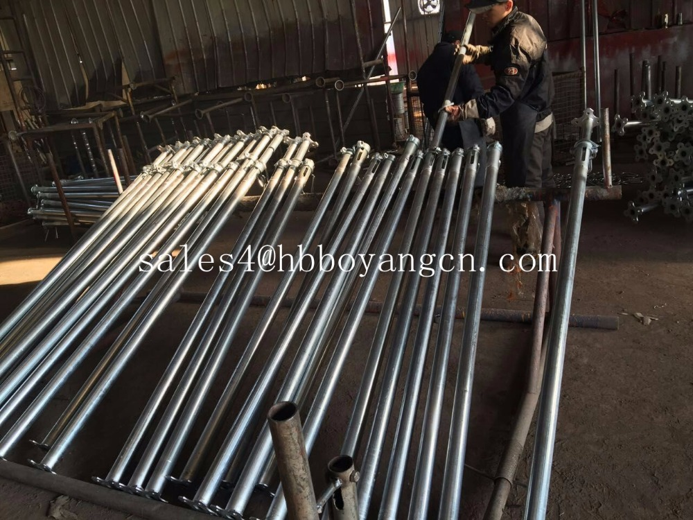 BOYANG Company Adjustable steel construction props used in construction