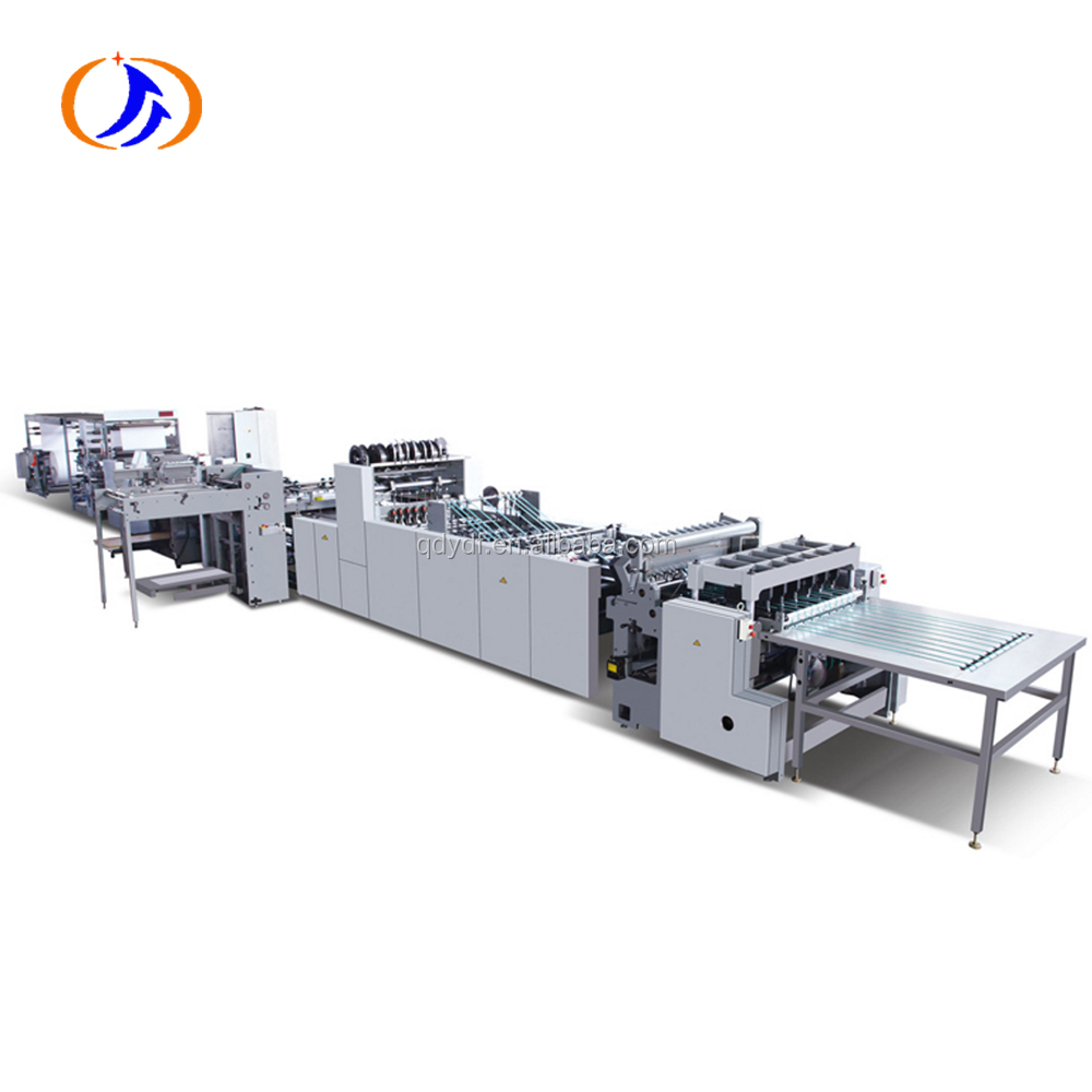 High speed exercise book making machine /notebook paper machine