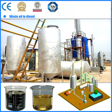 tyre oil extracting machine tire oil to diesel distillation machine
