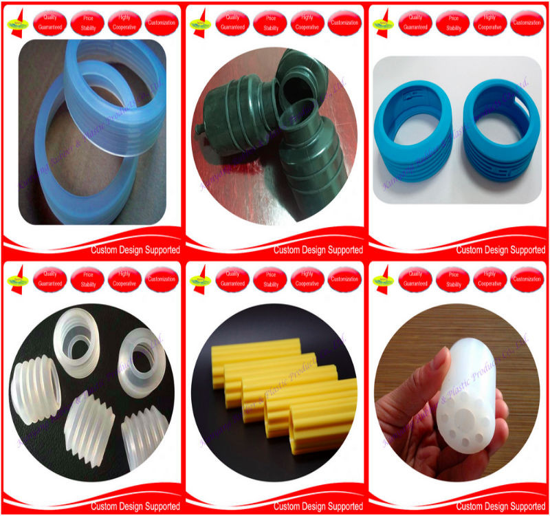 Custom Molded Various Silicone Rubber Vibrator Coffee Bottle Finger Sleeve