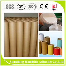 ZG-180 Hanshifu Super glue for paper pipe tube glue/acrylic water based paper tube glue/colorful paper cardboard tube glue