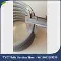 6 inch 6mm thickness, strong pressure pvc flexible water pump hose for golding hose