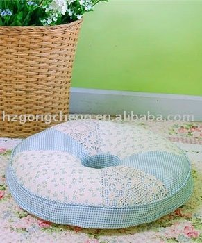 100% cotton patchwork cushion
