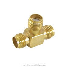 High Quality Welding Connector Female For RG45 Socket With Three T Interfaces Connector