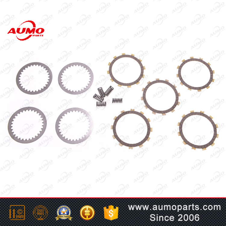 High performance clutch plate and spring set for Suzuki GN125 motorcycle spare part